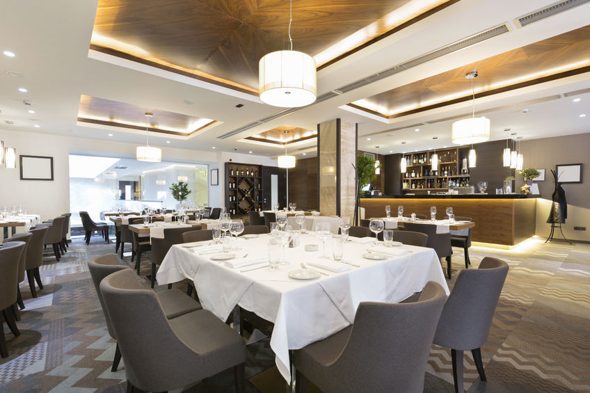 38034776 - elegant restaurant interior