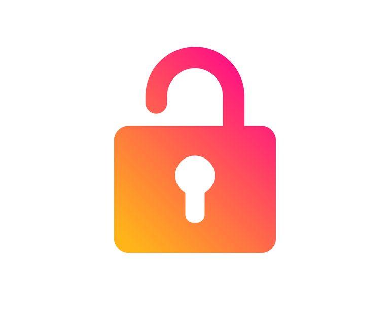 Lock icon. Private locker sign. Vector